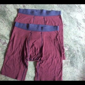 (2)TOMMY JOHN Boxer Brief Cotton Basicks Size L